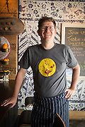 TORONTO, ON -  Michael Van Den Winkel, Chef and owner of Little Sister Restaurant, an Indonesian Snack Bar. Photographed on JUNE 5, 2015 by Grant Stirton for the Toronto Star