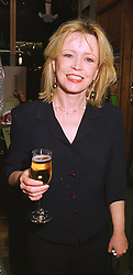 Actress ANGHARAD REES at a party in London on 2nd December 1998.<br /> MMO 45