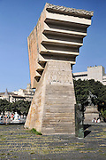 Plaza Catalunya, Memorial to Francesc Macia, Barcelona, Spain