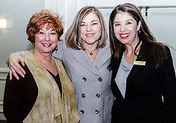 IRVINE, CA - MARCH 2:  Working Wardrobes CEO Jerri Rosen(L),  Congresswoman Loretta Sanchez (C) and Irvine Hilton Executive Dolores Escobar(R) at the closing ceremonies of the Working Wardrobes Dream Girls & Distinguished Gentlemen 2013 event at the Irvine Hilton in Irvine, CA. Working Wardrobes (http://www.workingwardrobes.org) is a non-profit organization located in Costa Mesa, CA. PHOTO: © 2013 SILVEX.PHOTOSHELTER.COM.