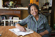 Retired teacher Grace Gregory, 92, has been living on Teneha Street for over fifty years and has seen the transformation the community has gone through from segregation to the election of Barrack Obama. Photo: Jaime R. Carrero/Tyler Morning Telegraph