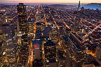 Downtown SF Twilight