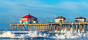 Huntington Beach Pier in December