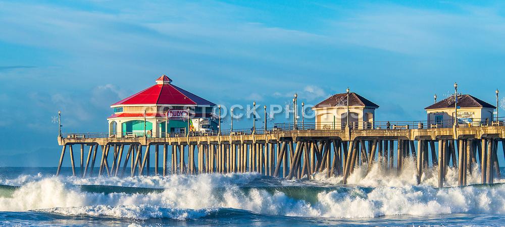 Huntington Beach Pier in December