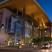 The Music City Center is seen in downtown Nashville, Tennessee on Friday, November 13, 2015. (Alex Menendez via AP)