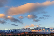 Sierra Nevada Range from the Volcanic Tablelands, Inyo National Forest, Inyo County, Caifornia