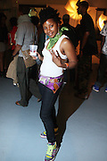 Omena Bey at The 11th Annual Tribute to the Wonders of Stevie, Wonderfull Party on May 16, 2009 held at BK Studio Lofts in Brooklyn, NY..The Annual Tribute to The Legendary Stevie Wonder, The Wonderfull Party produced by Keistar Productions with the sought after music producer duo, DJ Spinna and Bobbito aka Cucumber Slice rock the house in Brooklyn, NY. The BK Studio Lofts were packed to the rafters will Stevie Wonder fans, who were soulfully delighted with the customed designed sounds of Spinna and Bobbito, who subjected the crowds to a variety of Stevie Wonder written imprints and vocally driven tracks that have covered the span of the singers' career. What a beautiful way to begin your summer!