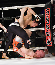 SFC Scottish Fighting Challenge: The Brave at The Alberts Halls in Stirling. This debut SFC event showcased a number of skilled Muay Thai and Mixed Martial Arts Fighters in semi professional and professional bouts. .©2010 Michael Schofield. All Rights Reserved.
