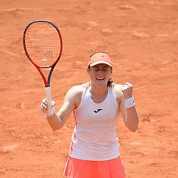 20210608: FRA, Tennis - French Open Roland-Garros 2021, Tamara Zidansek of Slovenia