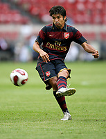 Photo: Maarten Straetemans.<br /> Arsenal v Lazio. LG Amsterdam Tournament. 02/08/2007.<br /> Eduardo (Arsenal)