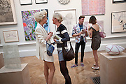 AGYNESS DEYN; LAURA WEIR; HENRY HOLLAND; ALEXA CHUNG, Royal Academy Summer Exhibition 2009 preview party. royal academy of arts. Piccadilly. London. 3 June 2009.