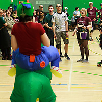 Manchester's New Wheeled Order take on South Wales Silures in the Tier 1 Mens British Champs at Castle Leisure Centre, Bury, 2017-05-06