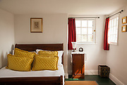 One of the bedrooms at Vanbrugh Castle, Greenwich, London, UK CREDIT: Vanessa Berberian for The Wall Street Journal. VANBRUGH