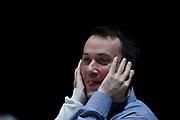 DESCRIZIONE : Bologna Lega A 2015-16 Obiettivo Lavoro Virtus Bologna - Umana Reyer Venezia<br /> GIOCATORE : Mirko Melloni<br /> CATEGORIA : Pregame Ritratto<br /> SQUADRA : Umana Reyer Venezia<br /> EVENTO : Campionato Lega A 2015-2016<br /> GARA : Obiettivo Lavoro Virtus Bologna - Umana Reyer Venezia<br /> DATA : 04/10/2015<br /> SPORT : Pallacanestro<br /> AUTORE : Agenzia Ciamillo-Castoria/GiulioCiamillo<br /> <br /> Galleria : Lega Basket A 2015-2016 <br /> Fotonotizia: Bologna Lega A 2015-16 Obiettivo Lavoro Virtus Bologna - Umana Reyer Venezia