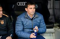 Leganes's coach Asier Garitano during a match of La Liga at Santiago Bernabeu Stadium in Madrid. November 06, Spain. 2016. (ALTERPHOTOS/BorjaB.Hojas)
