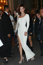 NEW YORK, NY - OCTOBER 20: Bella Hadid at Bvlgari Flagship Fifth Avenue Store Reopening on October 20, 2017 in New York City. 20 Oct 2017 Pictured: Bella Hadid. Photo credit: MPI99/Capital Pictures / MEGA TheMegaAgency.com +1 888 505 6342