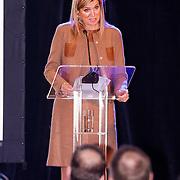 NLD/Amsterdam/20130409 - Prinses Maxima houdt toespraak conferentie The Currency Exchange Fund, toespraak Prinses Maxima