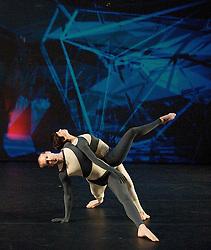 Nearly Ninety<br /> The Merce Cunningham Dance Company <br /> choreography by Merce Cunningham<br /> at The Barbican Theatre, London, Great Britain <br /> rehesrsal <br /> 26th October 2010 <br /> <br /> <br /> John Hinrichs<br /> Marcie Munnerlyn <br /> <br /> <br /> <br /> Photograph by Elliott Franks<br /> 2010©Elliott Franks