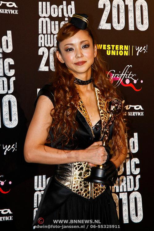 MON/Monte Carlo/20100512 - World Music Awards 2010, Japanse ster  Namie Amuro
