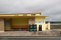 Public toilets and recycling centre in rural galway Ireland