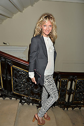LARA CAZALET at the Royal Academy of Arts Summer Exhibition Preview Party at The Royal Academy of Arts, Burlington House, Piccadilly, London on 7th June 2016.