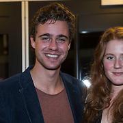 NLD/Zaandam/20140326 - Premiere De Verleiders, Beau Schneider en partner