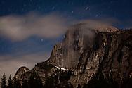 Halfdome at night, Yosemite, CA
