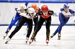 February 9, 2019 - Torino, Italia - Foto LaPresse/Nicolò Campo .9/02/2019 Torino (Italia) .Sport.ISU World Cup Short Track Torino - Ladies 1500 meters Final A .Nella foto: Jinyu Li..Photo LaPresse/Nicolò Campo .February 9, 2019 Turin (Italy) .Sport.ISU World Cup Short Track Turin - Ladies 1500 meters Final A.In the picture: Jinyu Li (Credit Image: © Nicolò Campo/Lapresse via ZUMA Press)