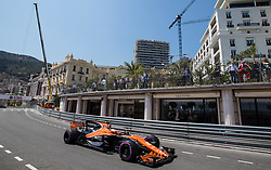 May 27, 2017 - Monte-Carlo, Monaco - Stoffel Vandoorne of Belgium and McLaren Honda F1 Team driver goes during the qualification on Formula 1 Grand Prix de Monaco on May 27, 2017 in Monte Carlo, Monaco. (Credit Image: © Robert Szaniszlo/NurPhoto via ZUMA Press)