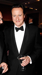 DAVID CAMERON at the Morgan Stanley Great Britons Awards at The Guildhall, City of London on 31st January 2008.  Conservative party leader David Cameron presenter a lifetime achievement award to former Prime Minister Baroness Thatcher.<br /> <br /> NON EXCLUSIVE - WORLD RIGHTS
