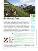 Backpacker: Bag a Remote Peak (August 2010)