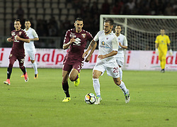 August 11, 2017 - Turin, Italy - Luigi Canotto during Tim Cup 2017/2018 match between Torino v Trapani, in Turin, on August 11, 2017. FC Torino win 7-1 the math. (Credit Image: © Loris Roselli/NurPhoto via ZUMA Press)