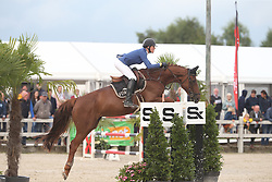 Van Hoecke Katrijn, BEL, I'm So Fancy Vdm Z<br /> 6 years old Horses<br /> BK Young Horses Gesves 2021<br /> © Hippo Foto - Julien Counet