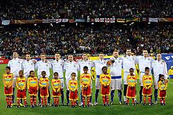 14.06.2010, Cape Town Stadium, Kapstadt, RSA, FIFA WM 2010, Italien vs Paraguay im Bild Teamfoto Italien, EXPA Pictures © 2010, PhotoCredit: EXPA/ InsideFoto/ G. Perottino, ATTENTION! FOR AUSTRIA AND SLOVENIA ONLY!!! / SPORTIDA PHOTO AGENCY