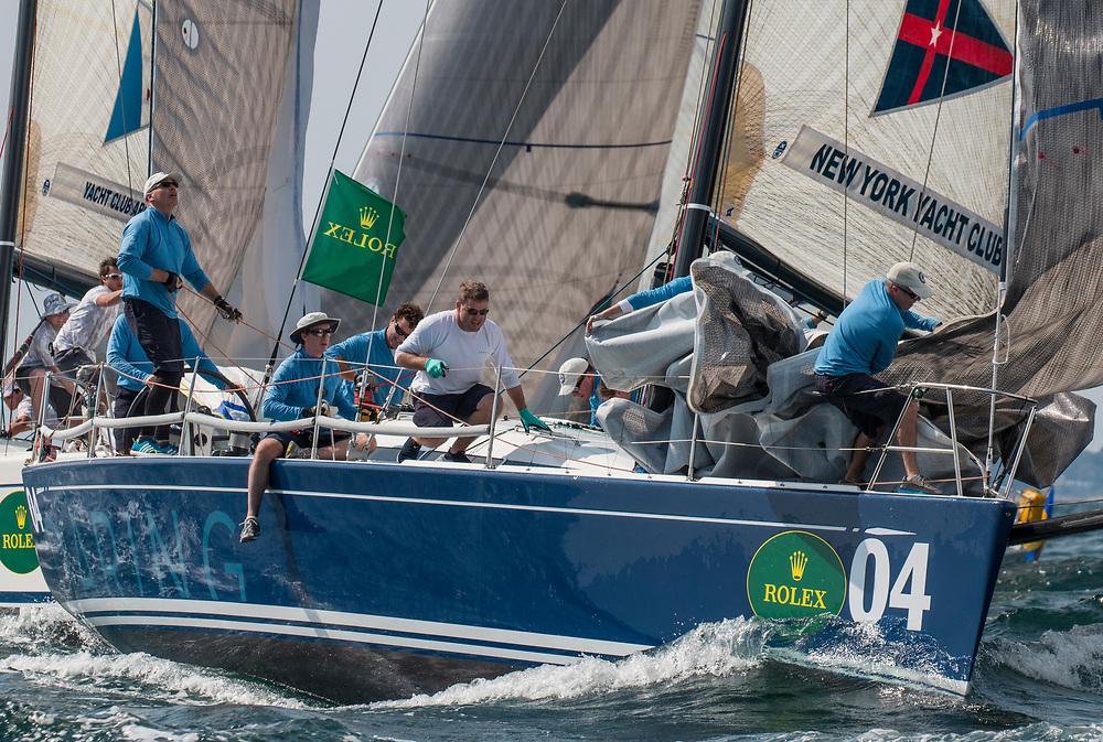 4New York Yacht ClubDaringNavyJohn Hele Brad Read<br /> <br /> 2017 ROLEX NYYC INVITATIONAL CUP