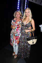 HANNAH SANDLING and her mother VICKI SANDLING at a party to celebrate the launch of Billionaire Boys Club Ice Cream Season 7 at Harvey Nichols, Knightsbridge, London on 18th June 2008.<br /><br />NON EXCLUSIVE - WORLD RIGHTS