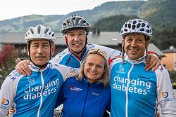 16-09-2017 FRA: BvdGF Tour du Mont Blanc day 7, Beaufort<br /> De laatste etappe waar we starten eindigen we ook weer naar een prachtige route langs de Mt. Blanc / Elias, Peter, Alberto, Eelco