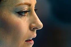 12-02-2014 CURLING: OLYMPIC GAMES: SOTSJI<br /> Japan verslaat Rusland met 8-4. Ekaterina Galkina,©2014-FotoHoogendoorn.nl