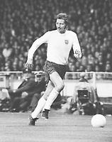 Football - Frank Worthington - England. <br /> England v Argentina 22/05/1974 @ Wembley. <br /> Credit: Colorsport