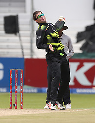 Jon-Jon Smuts (capt) of the Warriors during the T20 Challenge cricket match between the Lions and the Warriors at the Kingsmead stadium in Durban, KwaZulu Natal, South Africa on the 4th December 2016<br /> <br /> Photo by:   Steve Haag / Real Time Images