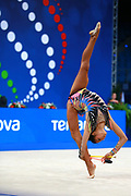 Alexandra Ana Maria Agiurgiuculese is an Italian gymnast, of Romanian origins, individualist of the Italian National Rhythmic Gymnastics.She is the only Italian gymnast who has managed to hit four finals for an edition of the World Championships.