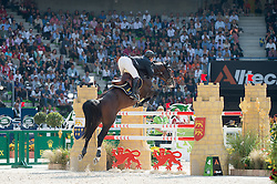 Patrice Delaveau (FRA), Casall Ask - Show Jumping Final Four - Alltech FEI World Equestrian Games™ 2014 - Normandy, France.<br /> © Hippo Foto Team - Jon Stroud<br /> 07/09/2014