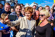 Nicola Sturgeon pays flying visit | Biggar | 3 June 2017