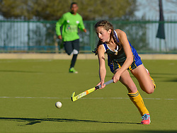 Katherine v/d Merwe of Eunice during day one of the FNB Private Wealth Super 12 Hockey Tournament held at Oranje Meisieskool in Bloemfontein, South Africa on the 6th August 2016<br /> <br /> Photo by:   Frikkie Kapp / Real Time Images