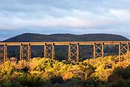 Changing seasons at the Moodna Viaduct