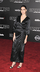 December 10, 2016 - Los Angeles, California, United States - December 10th 2016 - Los Angeles California USA - Actress MALA MITCHELL  at the World Premiere for ''Rogue One Star Wars'' held at the Pantages Theater, Hollywood, Los Angeles  CA (Credit Image: © Paul Fenton via ZUMA Wire)