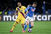 Soccer-Champions League-Napoli vs Barcelona-Feb 25, 2020