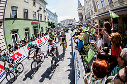 Jan Polanc (SLO) of UAE Team Emirates and other riders  at start in Celje during Stage 3 of 24th Tour of Slovenia 2017 / Tour de Slovenie from Celje to Rogla (167,7 km) cycling race on June 16, 2017 in Slovenia. Photo by Vid Ponikvar / Sportida