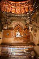 jain temple of lodruva jaisalmer in rajasthan state in india