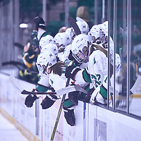 during the Women's Hockey Away Game on Fri Jan 11 at University of Saskatoon. Credit: Arthur Ward/Arthur Images